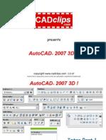 AutoCAD 3D 2007