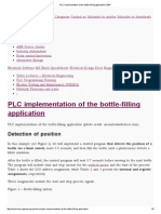 PLC Implementation of the Bottle-filling Application _ EEP