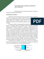 DETERMINACIÓN DE LAS RESISTENCIAS ESPECÍFICAS MEDIANTE FILTRACIÓN A PRESIÓN CONSTANTE