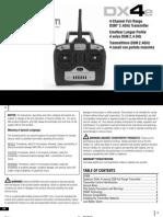DX4E 2.4ghz Manual
