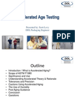 Accelerated Aging Webinar by Scott Levy