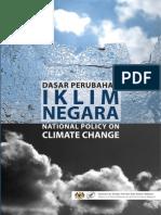 Dasar Perubahan Iklim Negara
