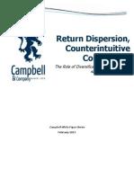 Return Dispersion, Counterintuitive Correlation - February 2015
