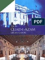 Qauid-e-Azam Library Brochure