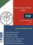 Current Affairs 2015