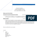 July 27 Committee Packet