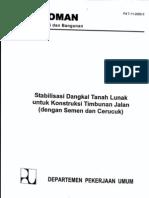 13.Stabilisasi Dangkal Tanah Lunak Untuk Konstruksi Timbunan Jalan