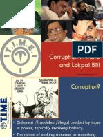 Corruption and Lokpal Bill