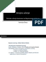 Strojno Uenje Bayesove Tehnike 2012 v5