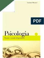 Luciano Mecacci - Psicologia. Teorie e scuole di pensiero