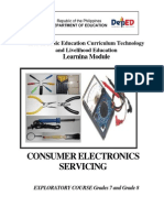 Consumer Electronics Servicing Learning Module 130610203451 Phpapp02