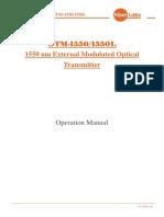 Otm-1550l Опт Передатчик