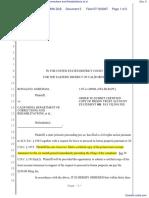 (PC) Goreham v. California Department of Corrections and Rehabilitations et al - Document No. 5