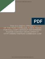 The Peak Floorplans