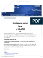 Life Skills Training in Schools