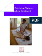 Children Treatment shiatsu