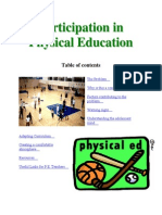 ParticipationPhysical Education