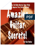 Amazing Guitar Secrets Book