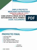 EJEMPLO Proyecto Mercadeo Estrategico LIC ALECHAN