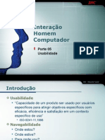 IHC-05-Usabilidade