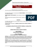 Codigo Penal del D.F.