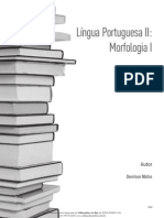 Lingua Portuguesa II Morfologia i 01