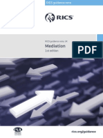 RICS Guidance - Mediation