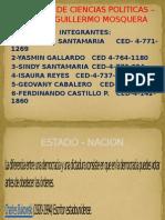Distintas Organizaciones Del Estado Nacion- Cesar Quintero Ciencias Politicas