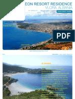Odeon Resort Brochure, Albania Property