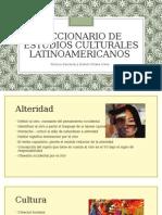 Diccionario de Estudios Culturales Latinoamericanos