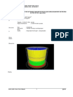 Modelamiento de un Tanque de Acero para almacenar alcohol de 500 lt. de capacidad con Sap 2000 14