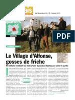 Le Rennais - Le Village d'Alfonse, gosses de friches - 15 Février 2010