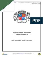 edital-Magisterio de Uruguaiana