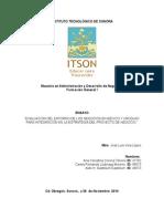 Evaluacion de Entorno de Negocios México-Uruguay