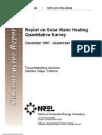 Water Heater Report