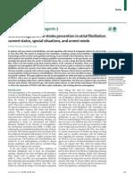 Anticoagulación Oral en La Prevención Del ECV Isquémica en La Fibrilación Auricular