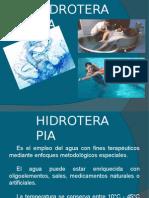 Clase de Hidroterapia