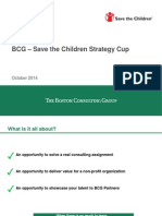 BCG - Save the Children Strategy Cup Rule Book