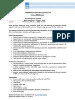 Volunteer ManagementAssistant AUG2015