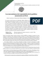 Politica Monetaria en El Peru- Estimacion VAR