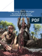 Achieving Zero Hunger