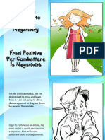 Frasi Positive Per Combattere La Negatività - Positive Thoughts to Combat Negativity