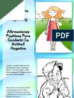 Afirmaciones Positivas Para Combatir La Actitud Negativa - Positive Thoughts to Combat Negativity