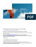 FIB Felicidade Interna Bruta- Portugal é Um País Infeliz?