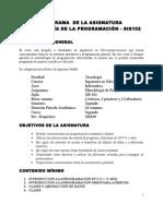SIS 102 Metodología de Programación