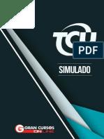 Simulado TCU