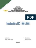 ENSAYO INTRODUCCIÓN A ISO 9001:2008