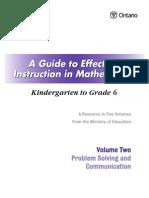 guide math k 6 volume 2