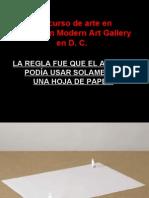 Concurso de Arte en Hirshhorn Moderncreó Gallery