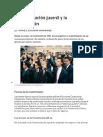 La Participación Juvenil y La Constitución